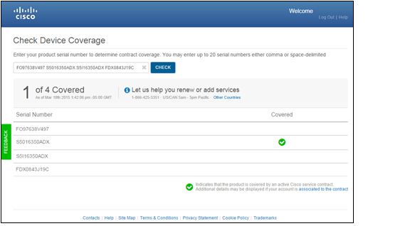 Cisco Device Coverage Checker - coverage-checker-checking-status